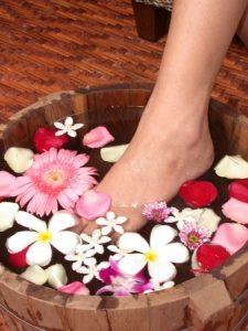 immunerősítő lábfürdő