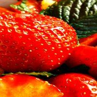 Aromagasztronómia – könnyű, édes epersaláta