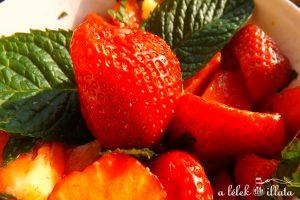 epersaláta aromavízzel