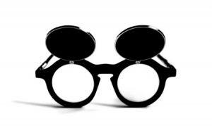 10 milliószoros napon a szemüveg más